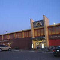 The Good Earth Market at sunset, Billings, Montana, 10.22.09, Биллингс