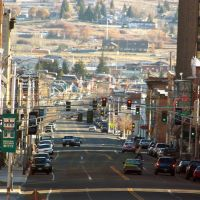 Main Street, Butte Montana (zoomed), Бьютт