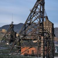 The Original and Steward Headframes - Butte, Бьютт