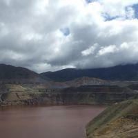 Butte, Montana, Kupfermine, 19. Juni 2011 vormittags, Бьютт