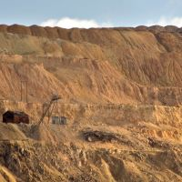 Remains of the Modoc Mine, Butte MT, Бьютт