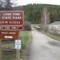 Lone Pine state park MT, Калиспелл