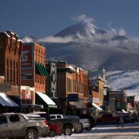 Main St. Livingston, Montana, Ливингстон