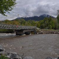 S. 9th st. Island Bridge remains, Ливингстон