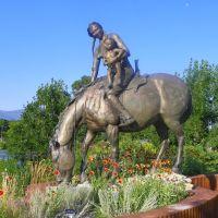 Sacajawea  Sculpture, Livingston, Park County, Montana, Ливингстон