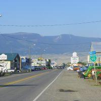 Entering Livingston, , Park County Montana, Ливингстон