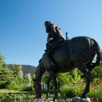 Sacagawea and Pompey, Ливингстон