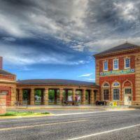 Livingston Montana Train Depot 1902, Ливингстон