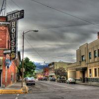Second Street, Livingston Montana, Ливингстон
