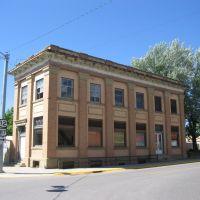Former Bank Building, Roundup, Montana, Раундап