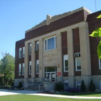 Musselshell County Courthouse, Roundup, Montana, Раундап