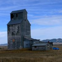 Grain elevator (Ross Fork, Montana), Силвер-Бау