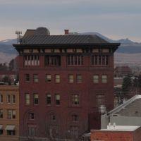Old, Historic Downtown Helena Montana Dec 13, Хелена