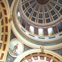 State capital dome interior, Хелена