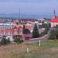 View of Helena (biggest town on the Great Divide), Хелена