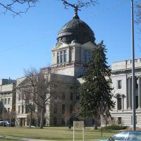 Montana State Capitol April 2013, Хелена