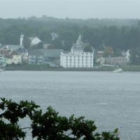 View across the bay at Bucksport, Maine, Бакспорт