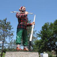 Paul Bunyun Statue Bangor Maine, Бангор