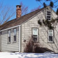 1822 Thomas Chase House, North Yarmouth Maine, Камберленд-Сентер