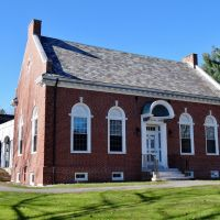 1923 Prince Memorial Library, Cumberland Maine, Камберленд-Сентер