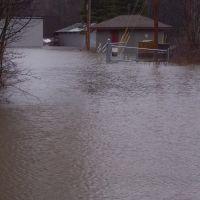KSD during Patriots Day Flood 2007, Кеннебанк