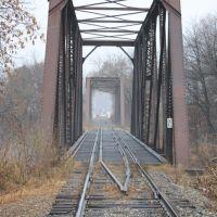 Rail Road Bridge Old Town, Maine, Милфорд
