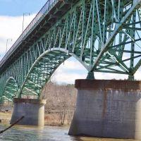 Memorial Bridge, Augusta, Maine, Огаста
