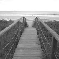 On the boardwalk in Old Orchard Beach (2009), Олд-Орчард-Бич