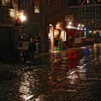 Wharf Street In The Night Rain, Портленд