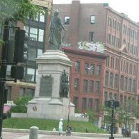 Statue on Congress, Портленд