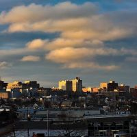 Stormy Sunrise over Portland, Портленд