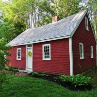 1702 (1684?) Richard Hunnewell House, Scarborough, Maine, Скарборо