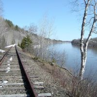 Aroostook River from the RR Tracks, Фалмаут