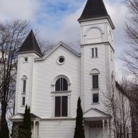 Old church, Freeport Maine, Фрипорт