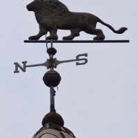 Lion weathervane, Фрипорт