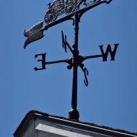 Freeport Fire Museum weathervane, Фрипорт