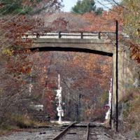Hunter Road Bridge, Freeport Maine, Фрипорт