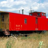 Bangor and Aroostook Railroad Caboose No. C-67 at Northern Maine Junction, Hermon, ME, Хампден