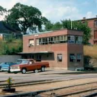 Maine Central Railroads Freight Yard Office at Bangor, ME, Хампден