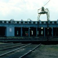 Maine Central Railroads Bangor Yard Turntable and Roundhouse at Bangor, ME, Хампден