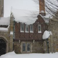 Calvary Methodist in Snow - Feb 10, 2010, Фредерик