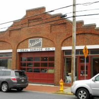 Ideal Garage Company building, S Carroll St, Frederick MD, Фредерик