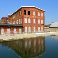 Union Knitting Mills building, Carroll Creek near E Patrick St, Frederick MD, Фредерик