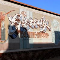The Everedy Bottle Capper Company mural, S East St, Frederick MD, Фредерик