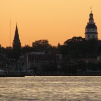 Annapolis Sunset Skylines Navigation Landmarks, Аннаполис