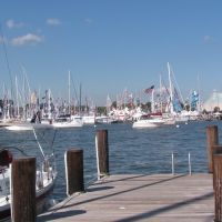 United States Sailboat Show Filling Annapolis, Аннаполис