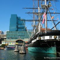 Inner Harbor in Baltimore, Maryland, Балтимор