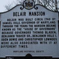 Belair Mansion, Бауи