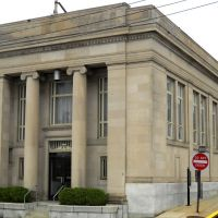 old bank, Historic U.S. Route 1, Baltimore Avenue, Hyattsville, MD, Брентвуд