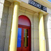 vintage bank, Historic Route 1, Rhode Island Avenue Northeast, Mount Rainier, MD, Брентвуд